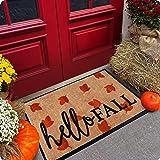 Welcome Mat - Door Mat - Fall Door Mat - Halloween Door Mat - Welcome Mats Outdoor - 30x18 Doormat - Door Mats Outdoor - Outd