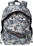 ZIPIT Grillz Backpack for Kids, Camo Grey