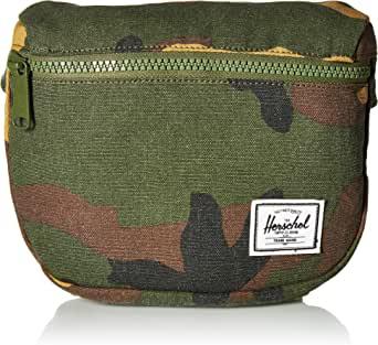 Herschel Supply Co. Women's Fifteen Fanny Pack, Camo, Green, Brown, One Size