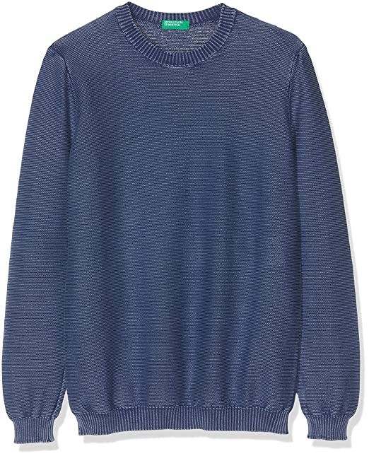 United Colors of Benetton Niños Sweater L/s Jersey Not Applicable, Azul (BLU