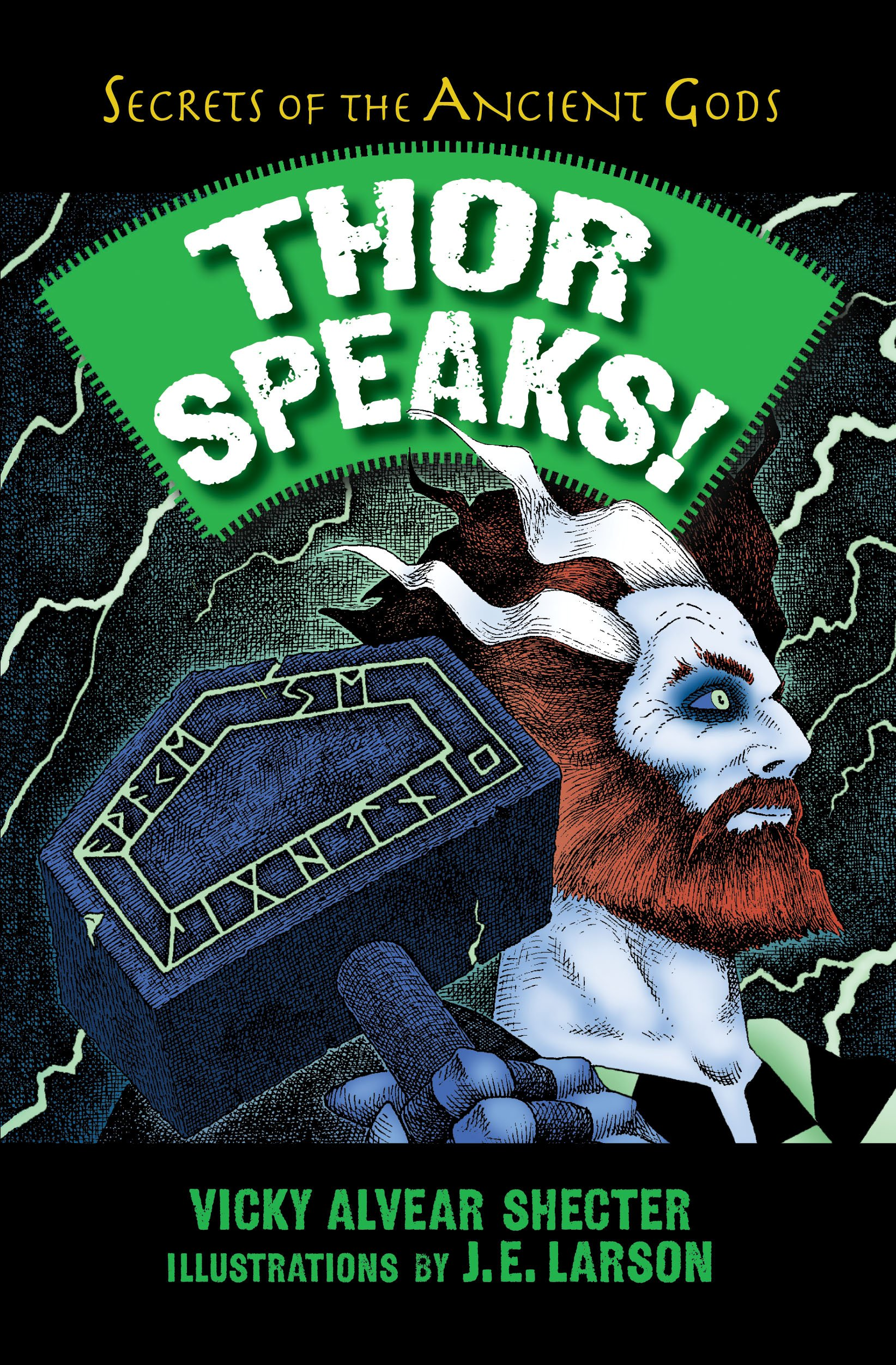 Thor Speaks!: A Guide to the Realms by the Norse God of Thunder (Secrets of the Ancient Gods) by Boyds Mills Press (Image #2)