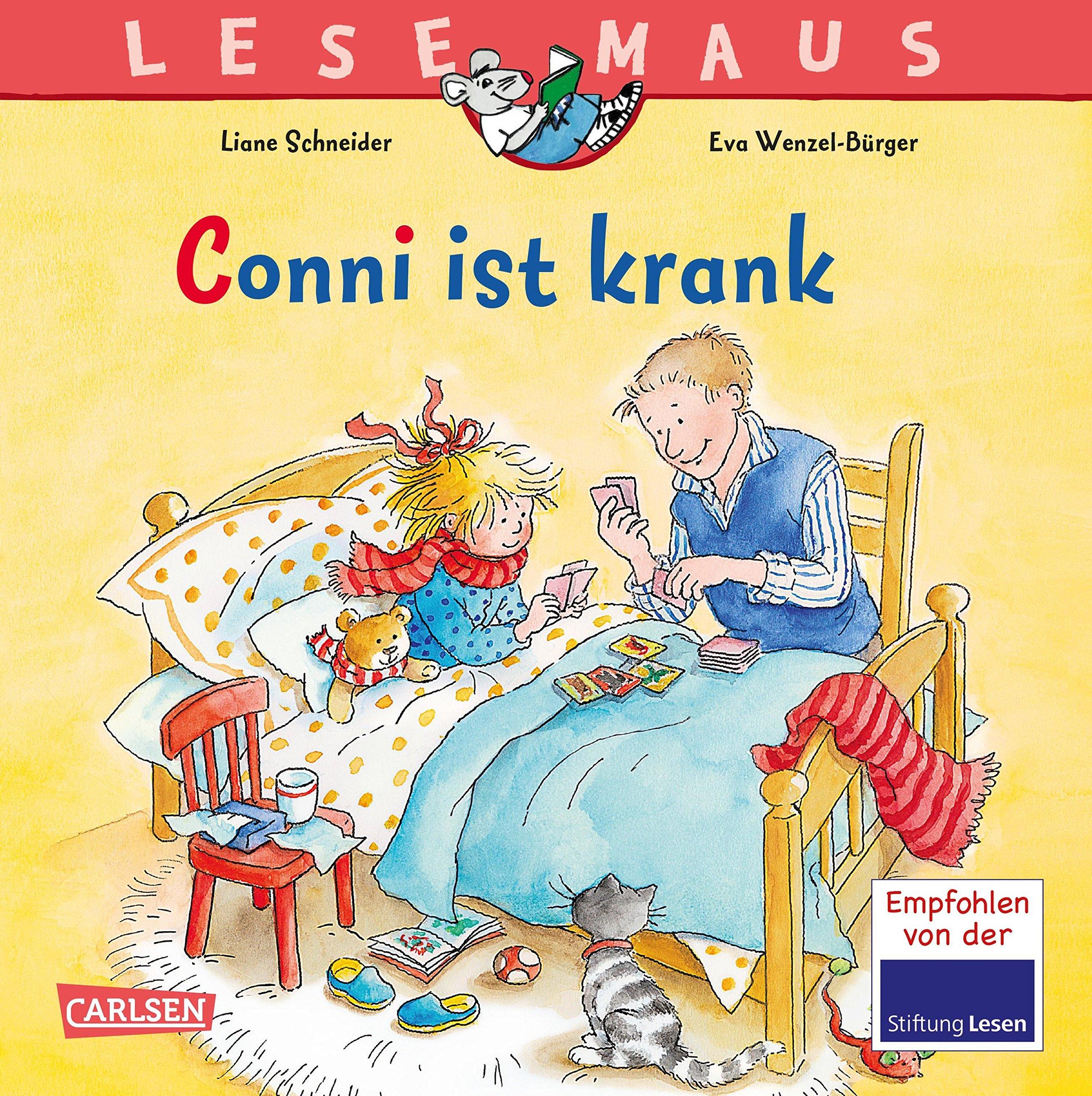 lesemaus-87-conni-ist-krank