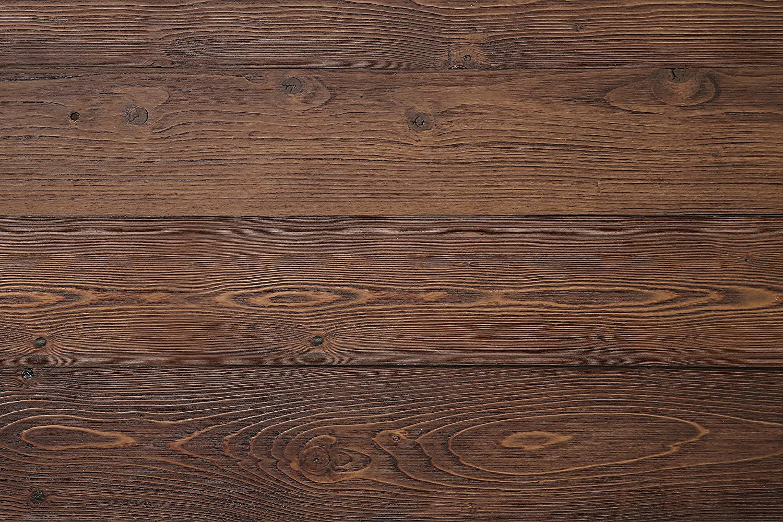 WoodyWalls Self-Adhesive, Wood Wall Panels. (19.5 sq. ft. per Box) Old Brown Woody Walls woodplunk_20sqf_oldbrown