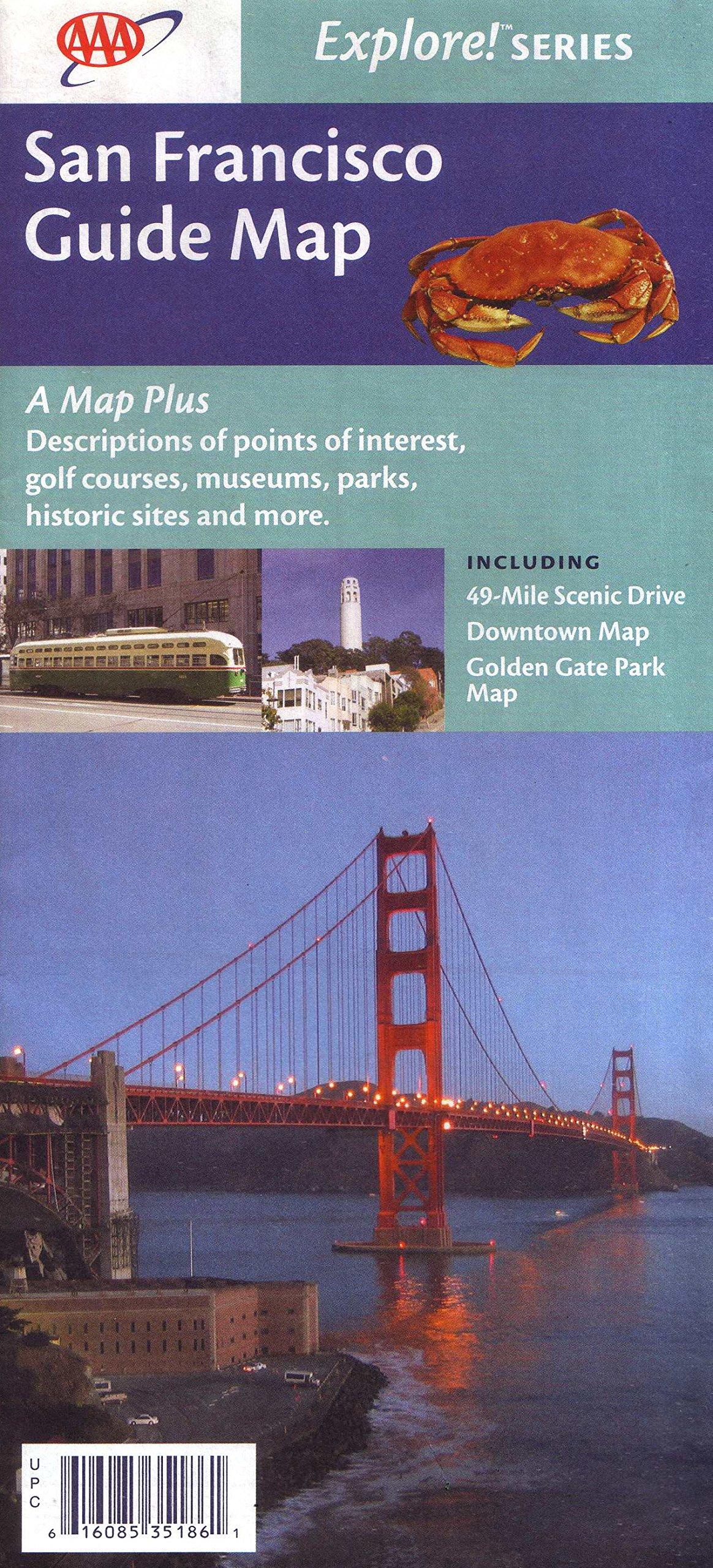 San Francisco Guide Map (Explore! Series) pdf