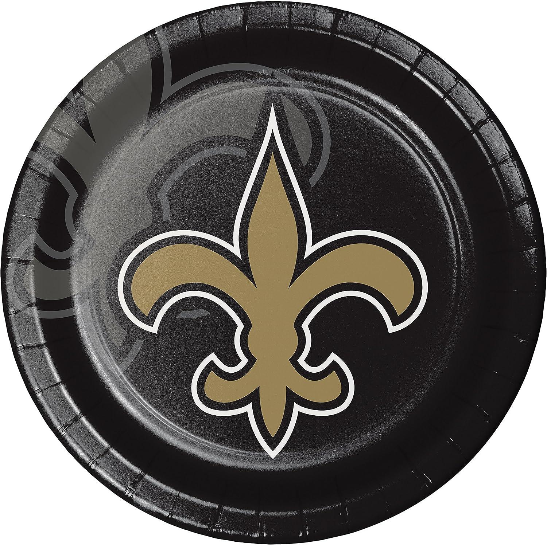 New Orleans Saints Paper Plates, 24 ct