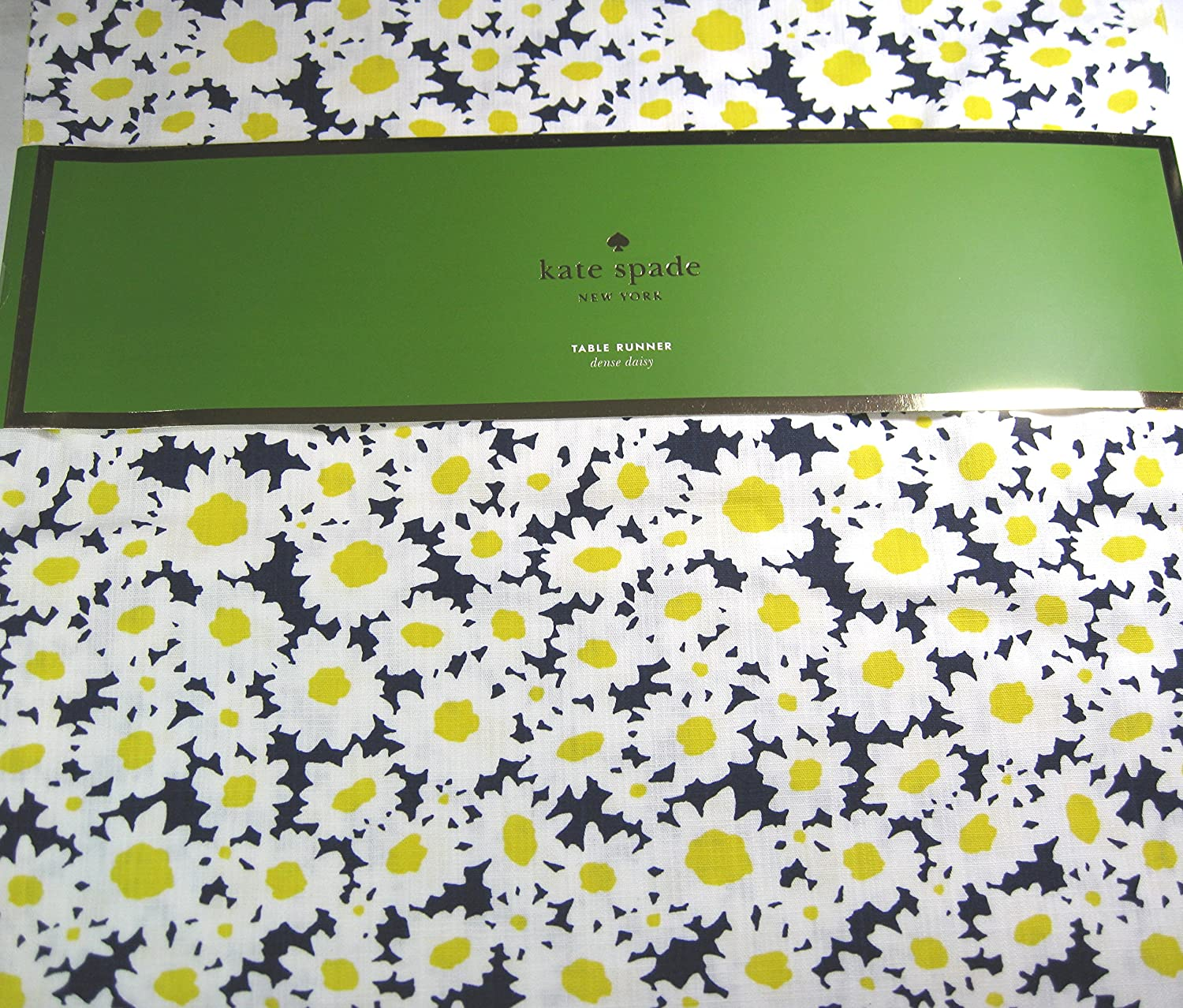 Kate Spade Floral Table Runner Blossom//Multi Color 15 x 72 100/% Cotton