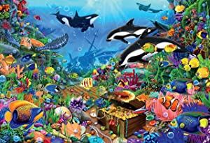 Ceaco 3501-12 Jewels of The Deep Puzzle - 2000Piece