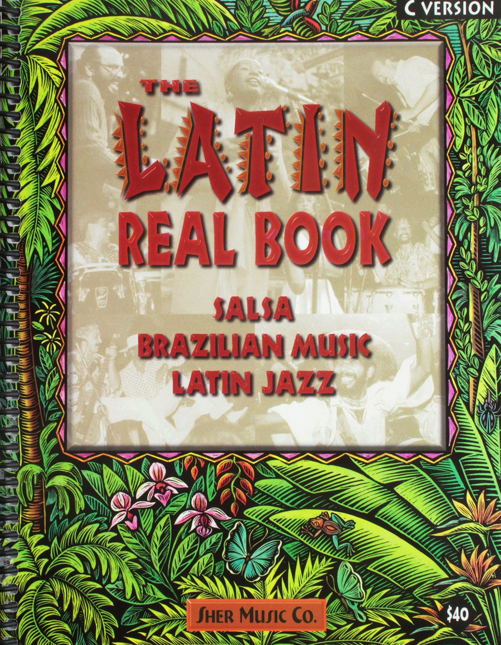 Amazon.com: Latin Real Book C Edition (0073999086195): Hal Leonard: Books