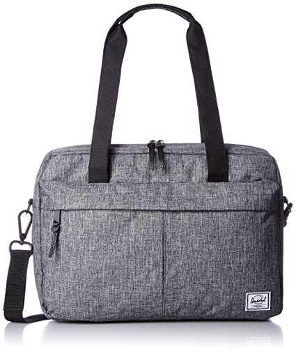 Herschel Supply Co. Gibson Messenger Bag, Raven Crosshatch