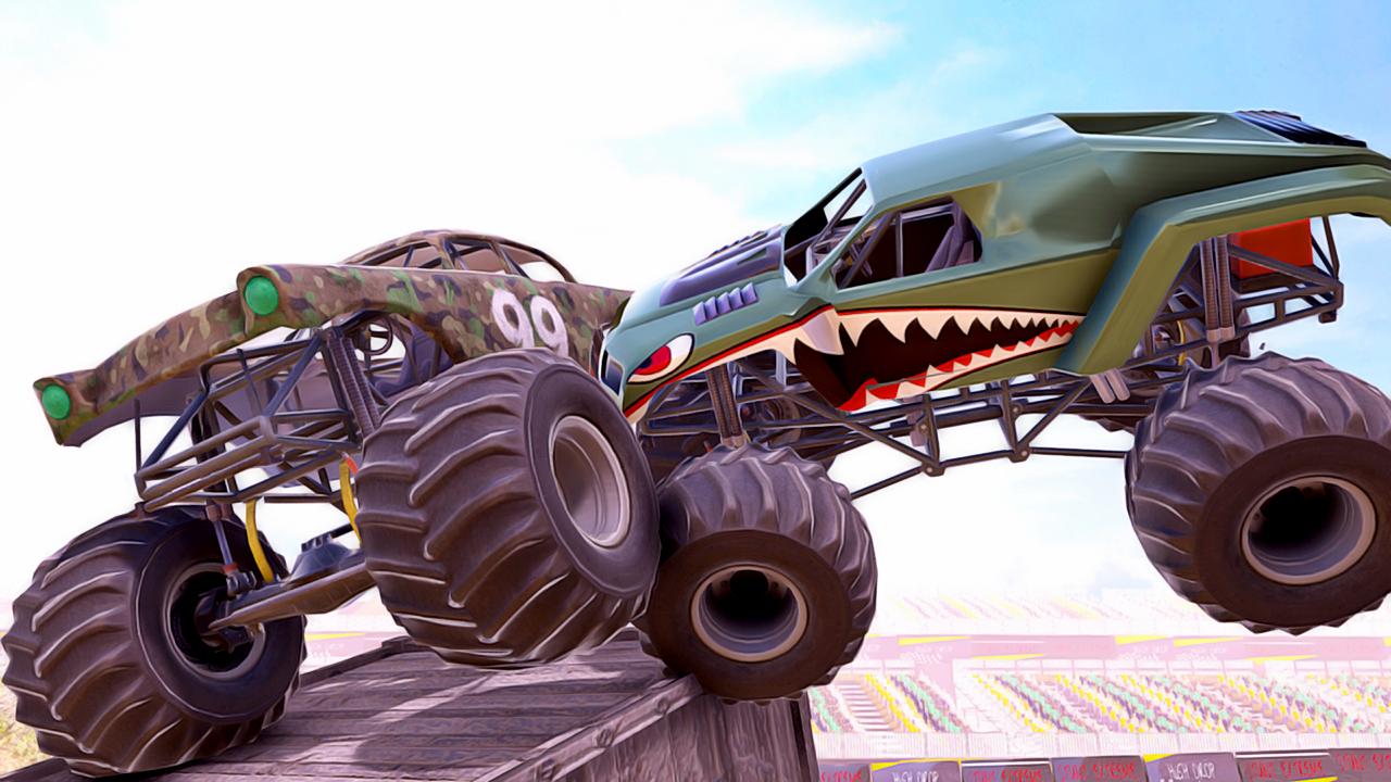 Amazon Com Demolition Derby Monster Truck Destruction Racing Game Crash Stunts Appstore For Android