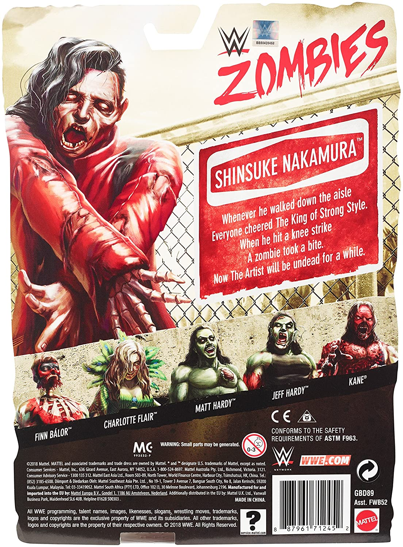 WWE Zombies Shinsuke Nakamura Action Figure