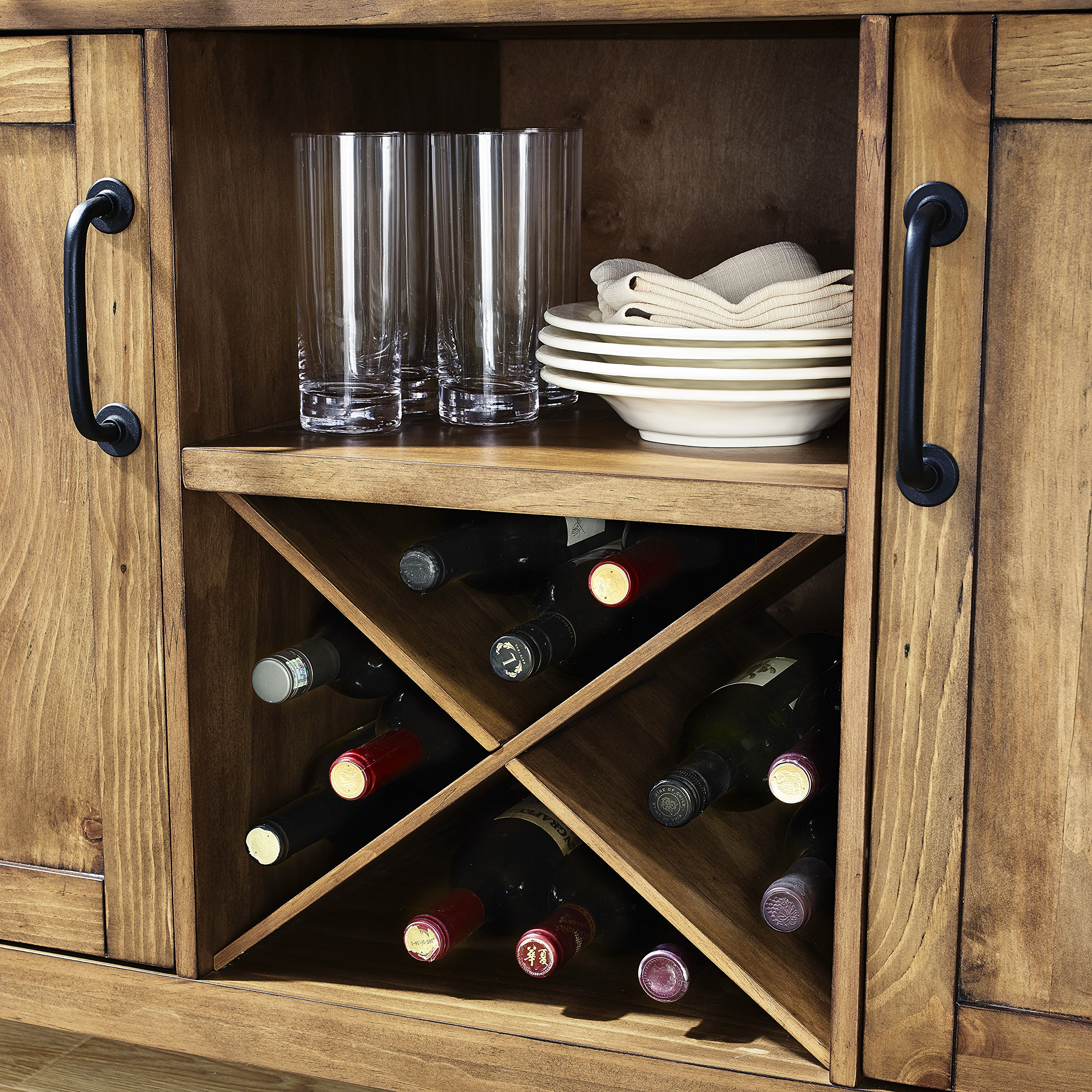 Crosley Furniture Roots Buffet Dining Room Storage - Natural by Crosley Furniture (Image #5)