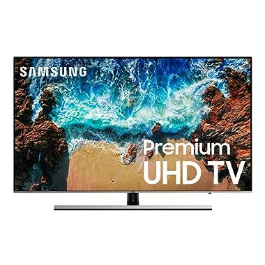 Samsung UN49NU8000FXZA Flat 49  4K UHD 8 Series Smart LED TV (2018)