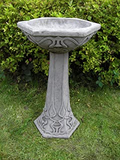 deco bird bath feeder high quality garden ornament