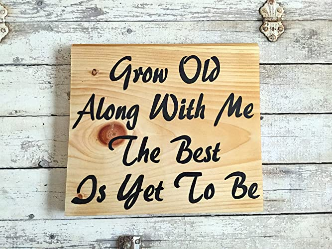 Amazon.com: Rustic Romantic Love Quotes Wood Signs For Bedroom Wall ...