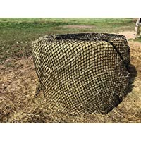 4x5 KNOTLESS Round Bale Hay Net Slow Feed