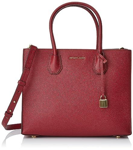 d64196484c73 Michael Michael Kors Mercer Large Leather Tote  Handbags  Amazon.com