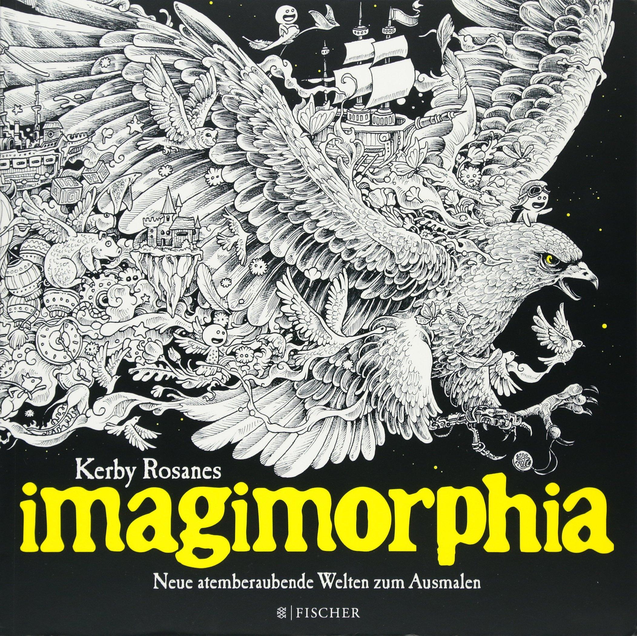 Imagimorphia: Neue atemberaubende Welten zum Ausmalen