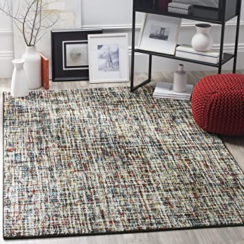 Amazon Com Safavieh Porcello Collection Prl6942a Modern Non Shedding Stain Resistant Living Room Bedroom Area Rug 4 X 6 Multi Furniture Decor