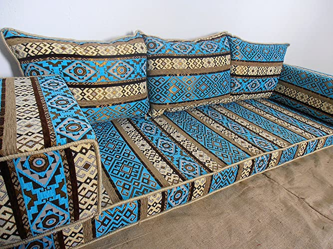 Amazon.com: floor seating,floor cushions,arabic seating,arabic ...
