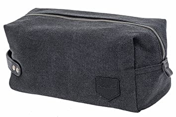 KUBO NEW Canvas Toiletry Bag or Dopp Kit Bag - Durable, Chic   Stylish - 180e6dd0d7