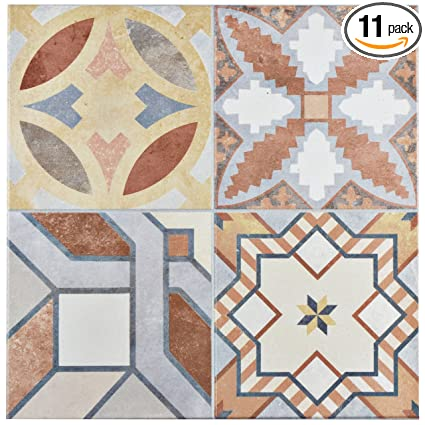 Somertile Fec13hid Hidra Ceramic Floor And Wall Tile 13 X 13