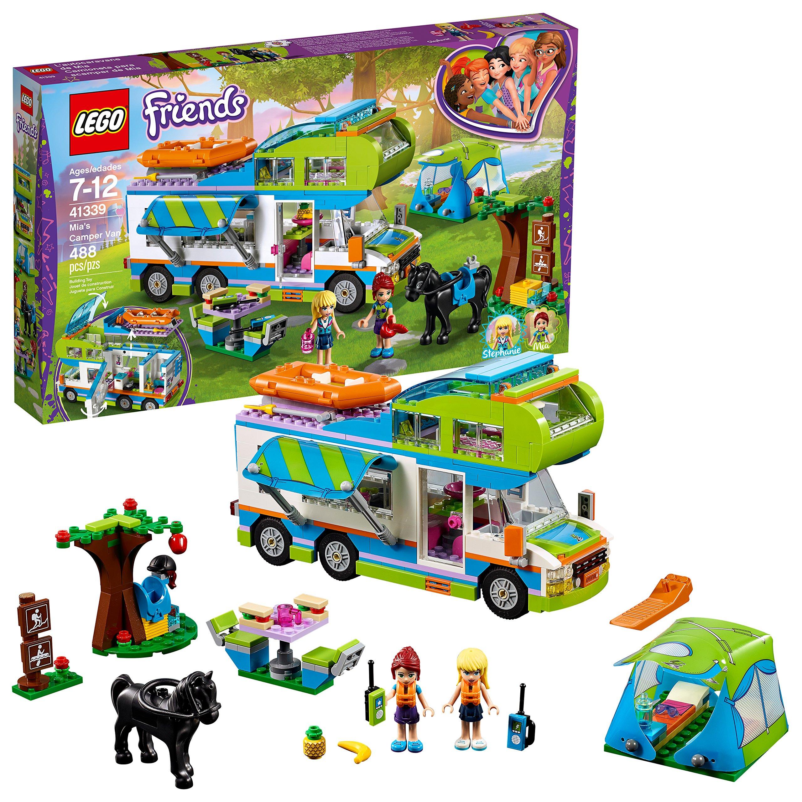 LEGO Friends Mia's Camper Van 41339 Building Set (488 Pieces) by LEGO