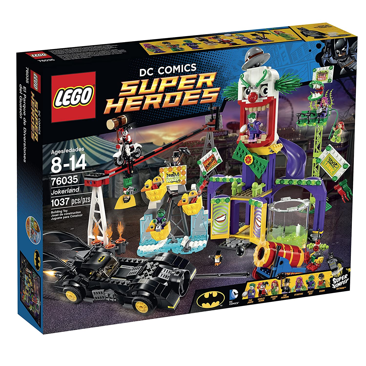LEGO Super Heroes 76035 Jokerland Building Kit by Unknown