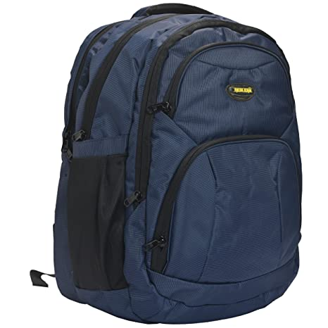 3680464a0db9 New-Era Polyester 40 Ltr Navy Blue School Backpack  backpacks for mens  bagpacks college bags for men bags for travel  Amazon.in  Bags