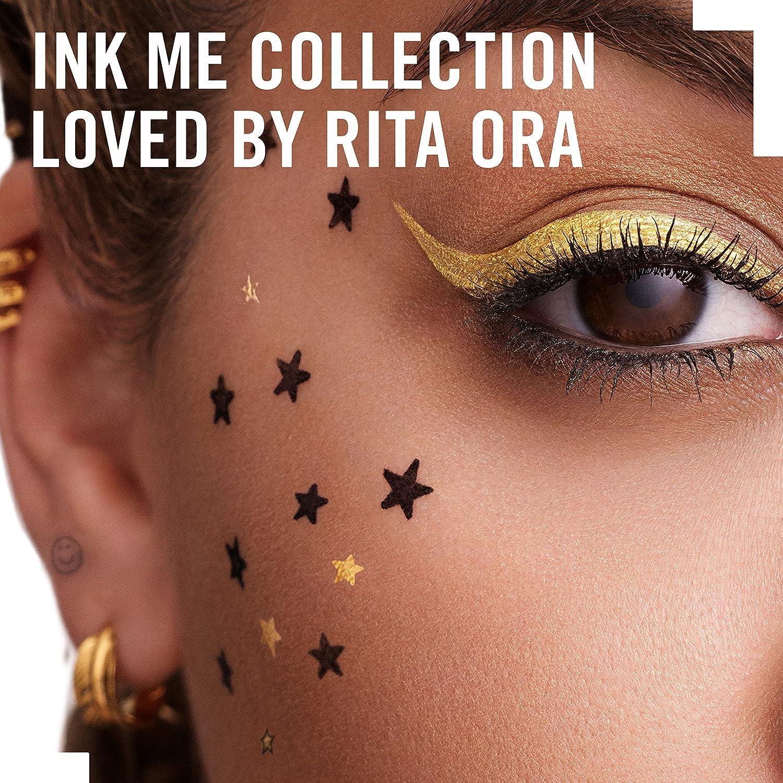 Rimmel London Ink Me Stickers Tatuaje temporal Tono 001-15 gr: Amazon.es: Belleza