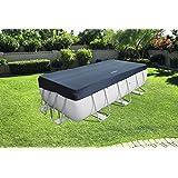 Bestway 58232 - Cubierta para piscina de estructura splash 404 × 201 cm/412 × 201 cm, medidas de cobertor 3.96 m x 1.85 m