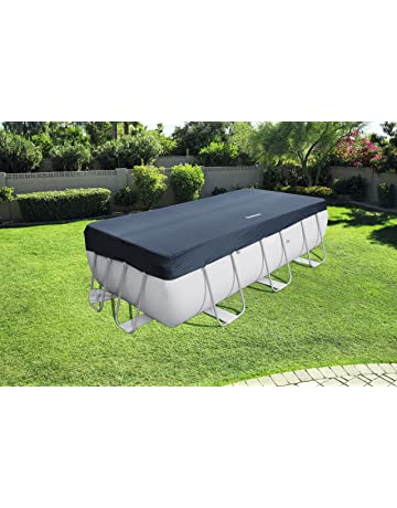 Bestway 58232 - Cubierta para piscina de estructura splash 404 × 201 cm / 412 ×