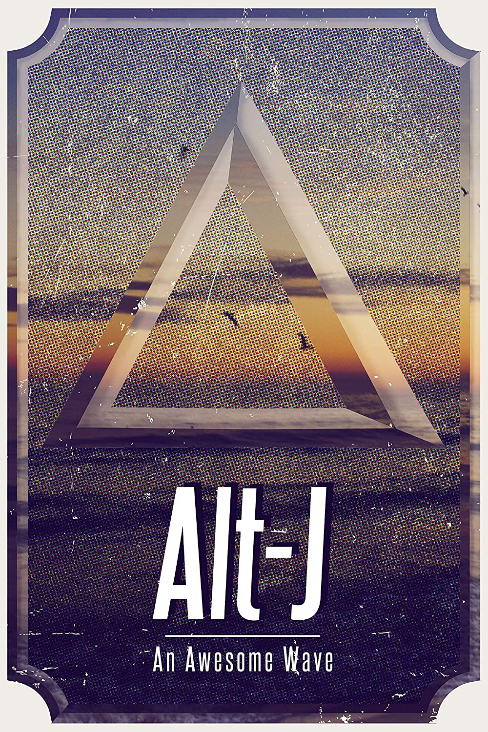 Amazon Com Alt J Band Artwork Poster Alt J Album Print British