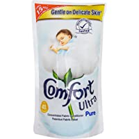 Comfort Concentrate Fabric Softener Refill Pouch, Ultra Pure, 800ml