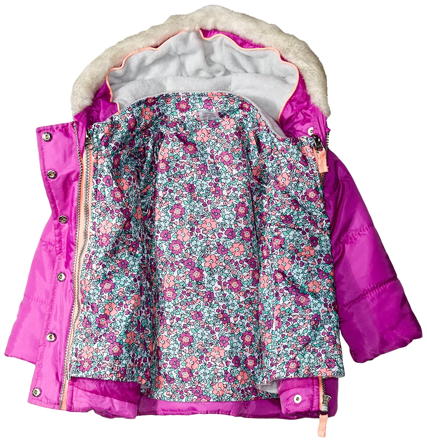 3312c22e7 Amazon.com  Carter s Baby Girls  Heavyweight Systems Jacket
