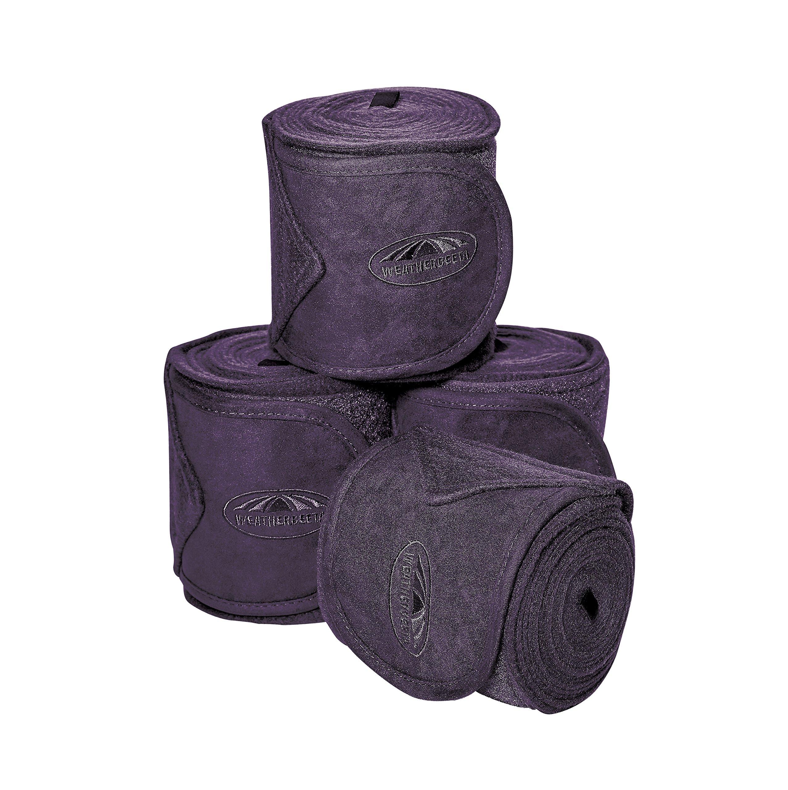 Weatherbeeta Prime Fleece Bandage 4pk 3.5m: Purple