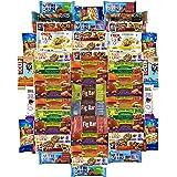 Healthy Office Bars & Snacks Super Variety Pack Bulk Sampler (Care Package 50 Count)