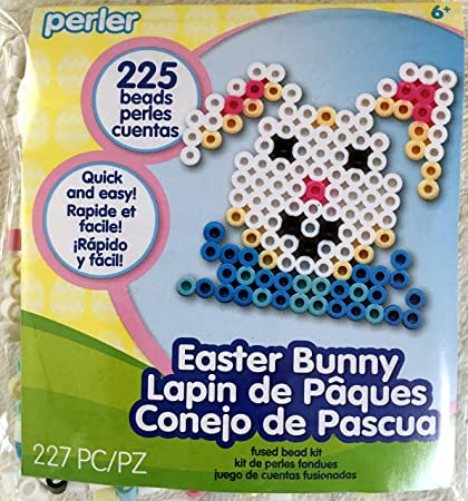 Amazon Com Perler Beads Easter Bunny Activity Kit Easter Crafts For