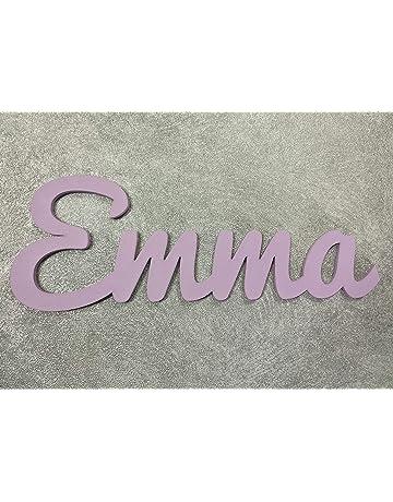 Nombres decorativos infantil de madera para niño y niña, regalos únicos y originales para decoraciones
