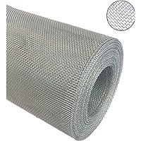 Green Home Aluminium stof vliegengaas, aluminiumweefsel, vliegenbescherming, aluminium net, rooster, lichtschacht, 12,50…