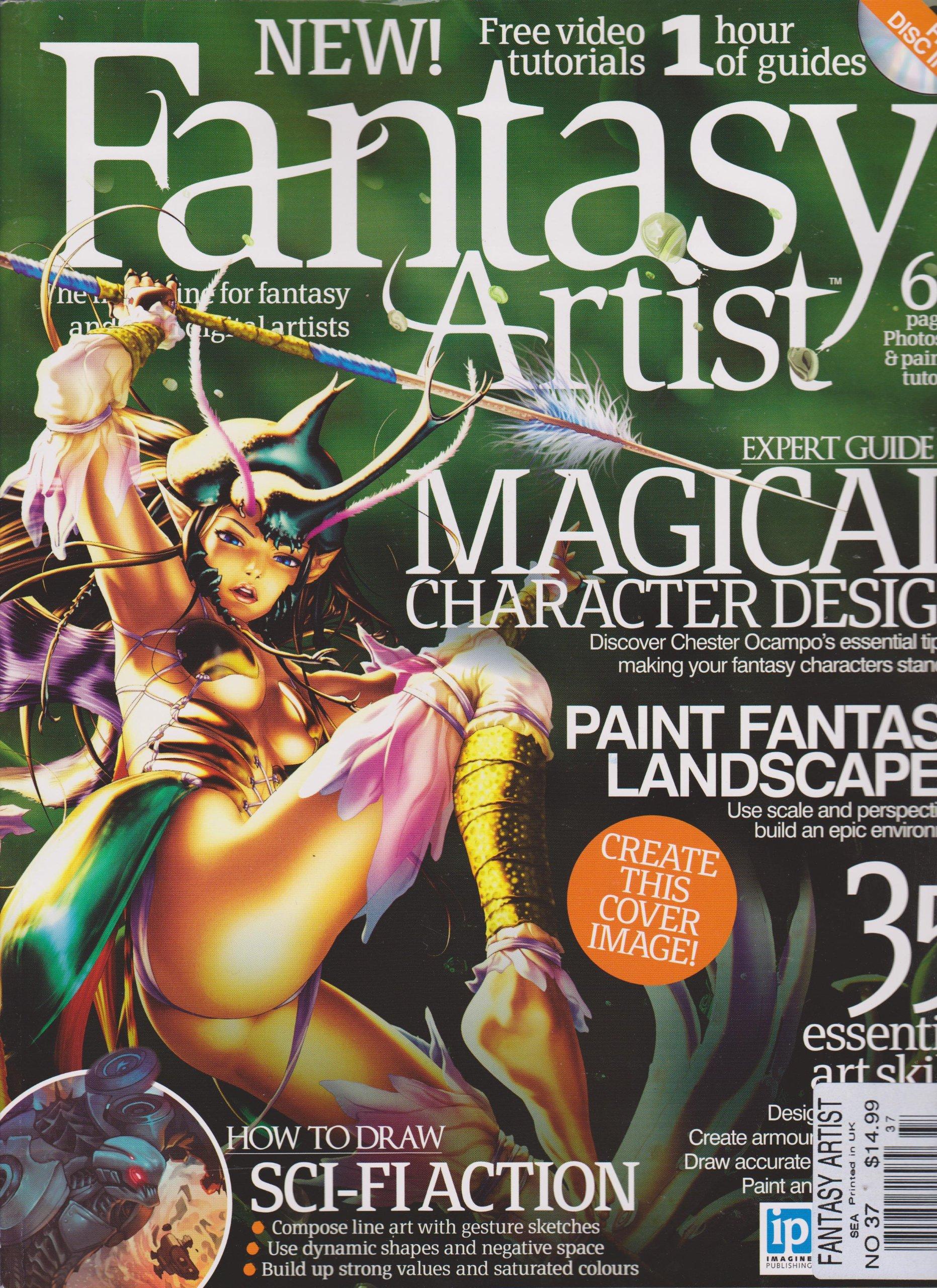 Fantasy Artist Magazine Number 37 Amazon Com Books
