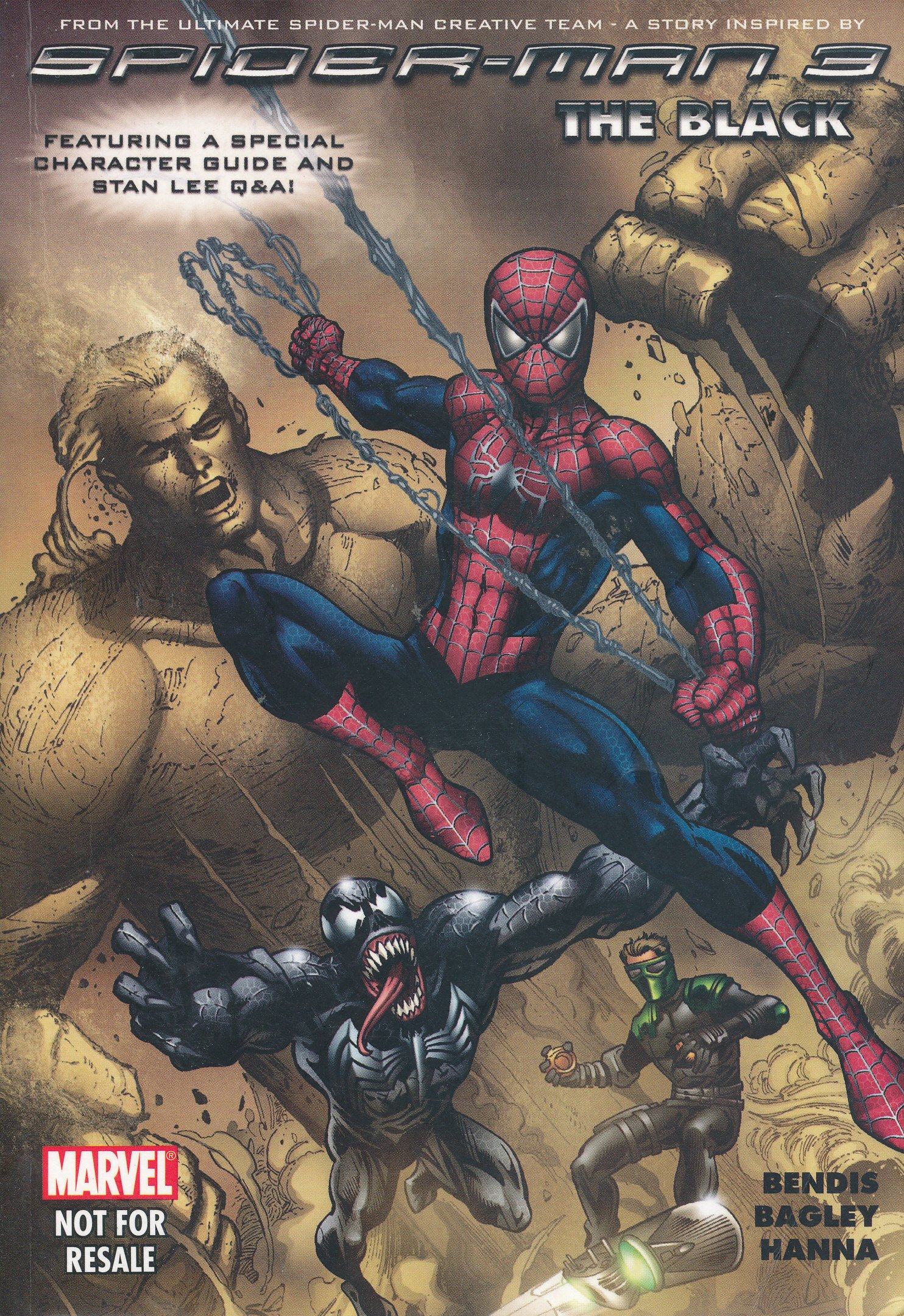 Read Online From the Ultimate Spider-man Creative Team - A Story Inspired By Spider-man 3 : The Black (Featuring a Special Character Guide and Stan Lee Q & A) pdf