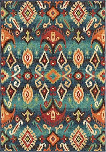 Orian Rugs Spoleto Monica Area Rug, 7 10 x 10 10 , Aqua