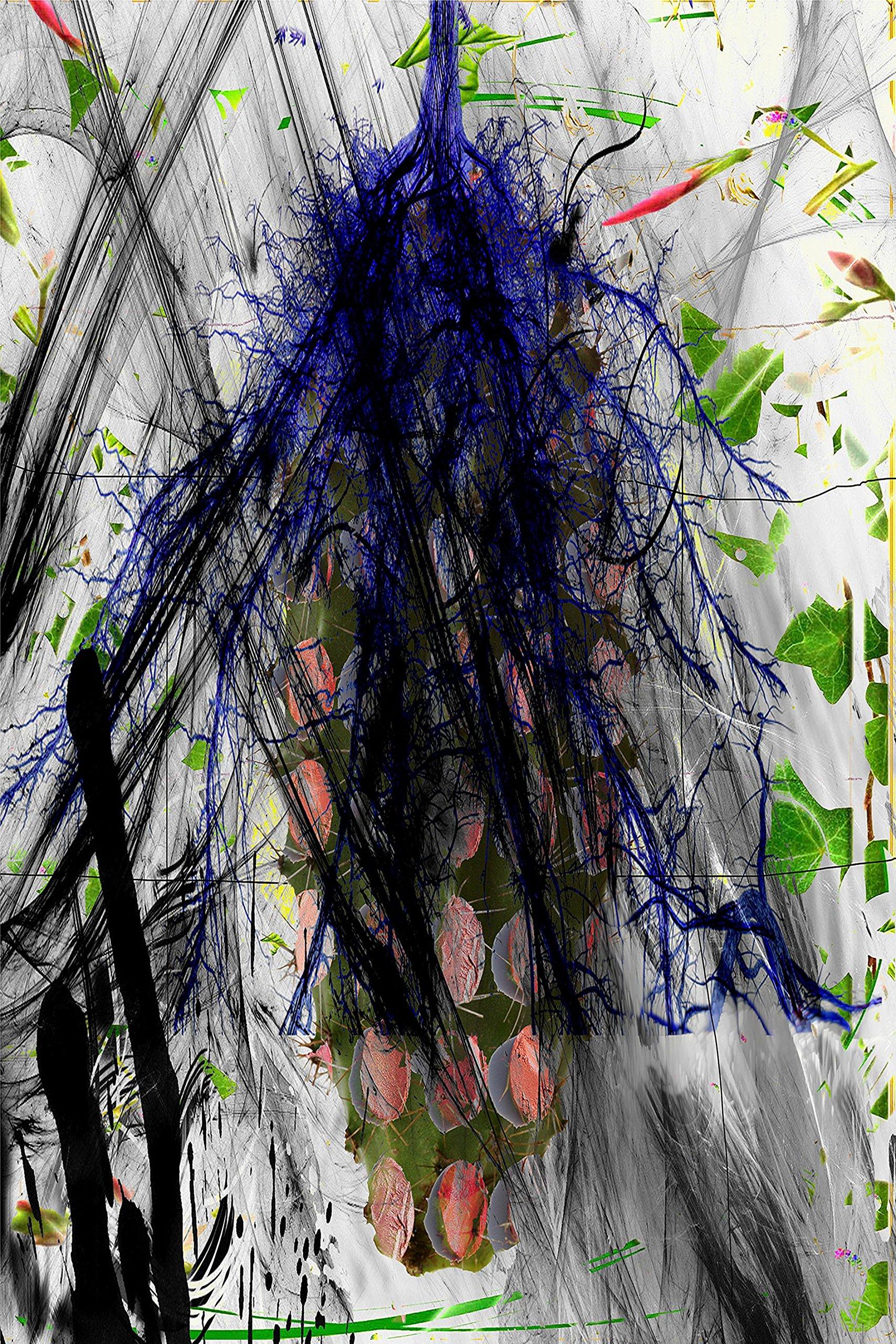 abstract organic XXIV. Dye Sublimation on Alu.