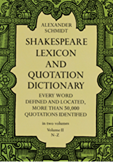 A Shakespeare Glossary Ebook Charles Talbut Onions Amazon In