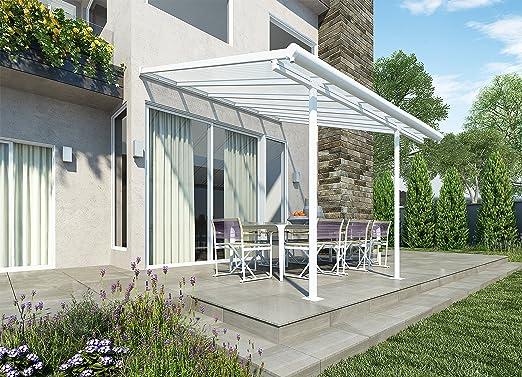 Palram SIERRA 3X3.05 - Funda para patio transparente, color blanco ...