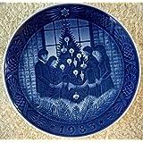 1983 Royal Copenhagen Christmas Plate - Merry Christmas