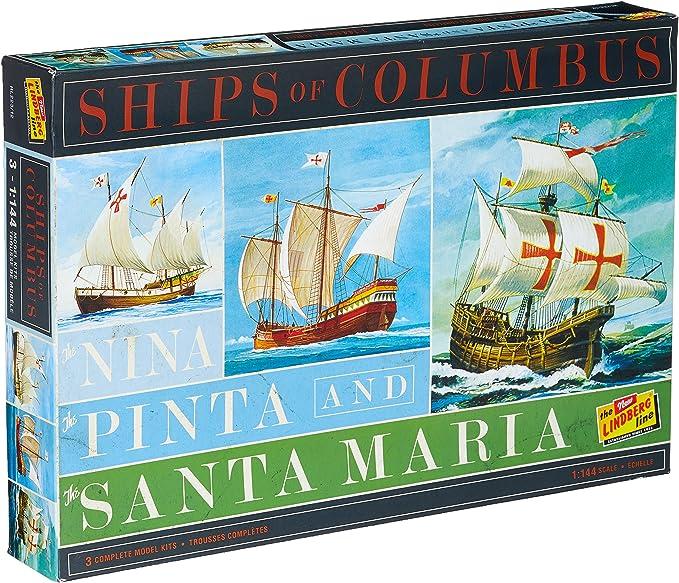 Unbekannt Lindberg hl223/12 1/144 Nina, Pinta, Santa Maria: Amazon.es: Juguetes y juegos