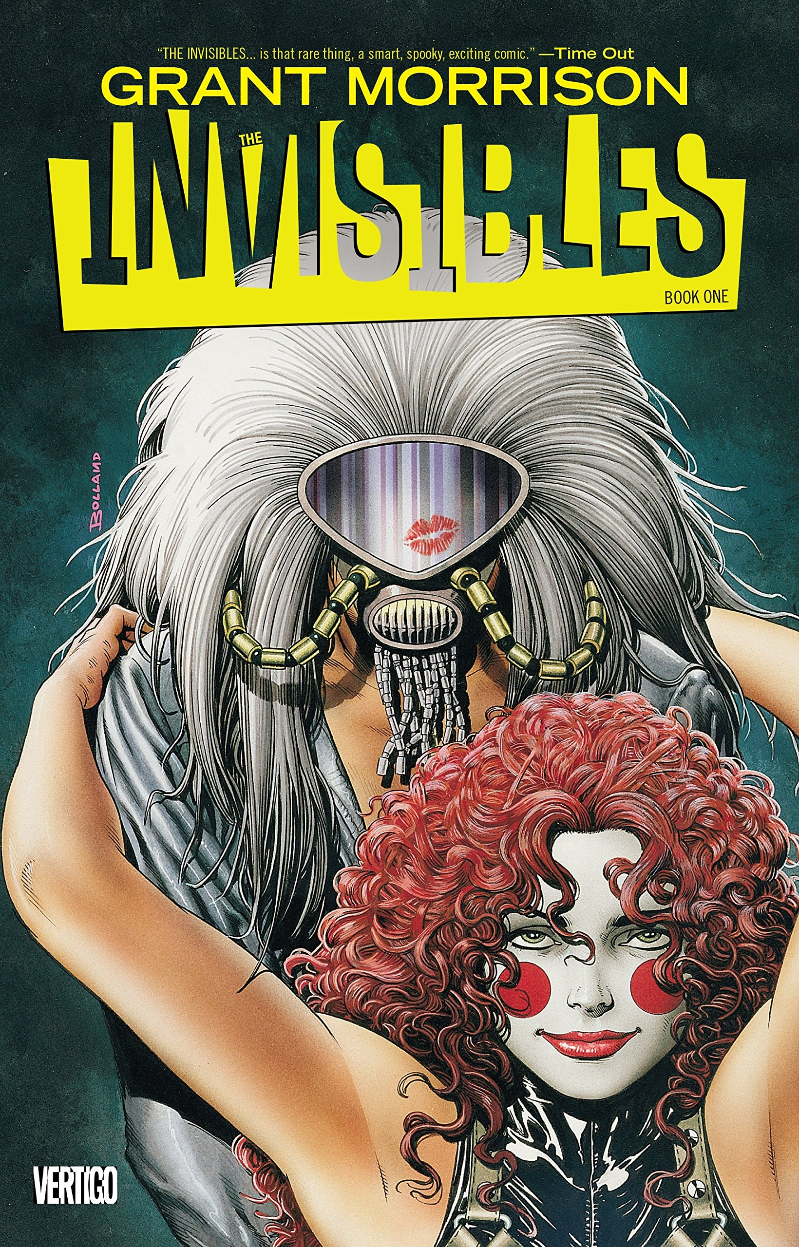 Invisibles Book One Grant Morrison product image