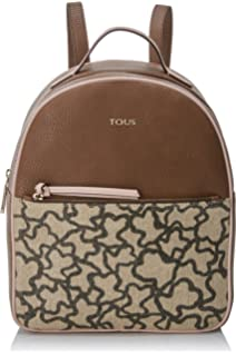 Tous Elice New Mediana, Womens Backpack Handbag, Multicolour (Marrón-rosa),